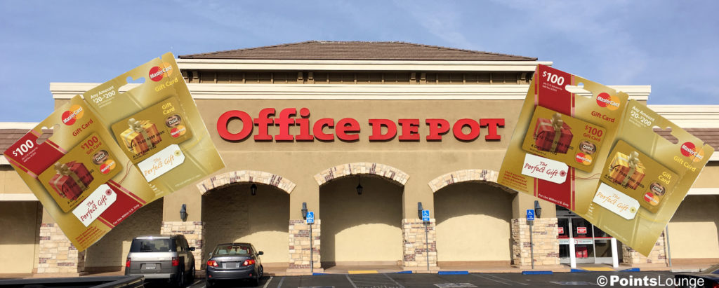 Office Depot has a great sale on several different gift cards - including MasterCard gift cards! (MCGCs!)