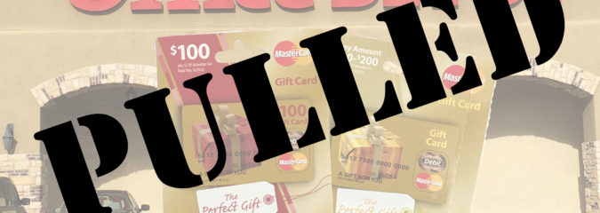 Pulled! Office Depot Gift Card Sale Canceled?!