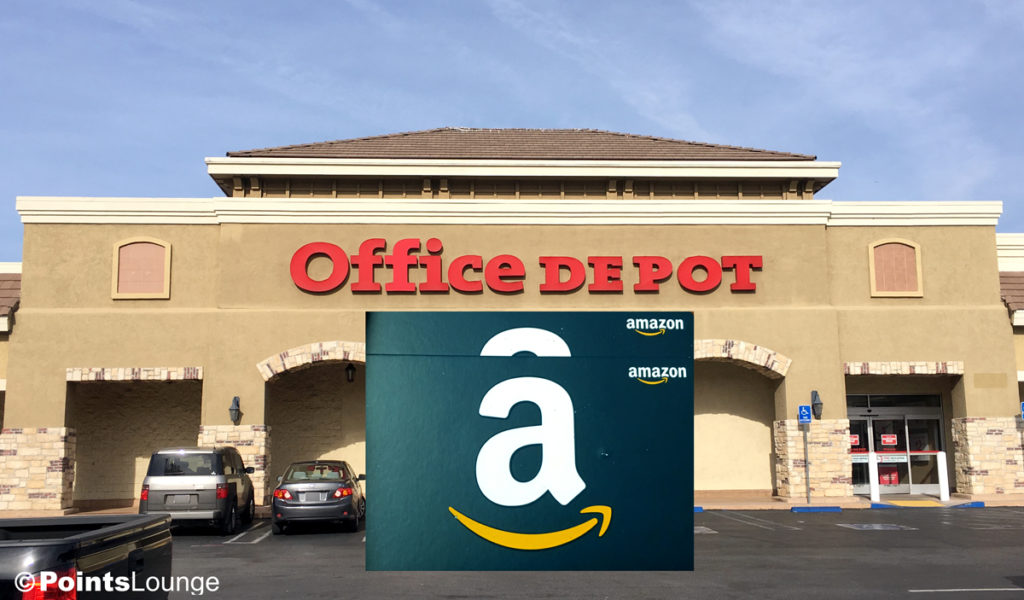 How I saved $20 off $100 in Amazon gift cards at Office Depot!