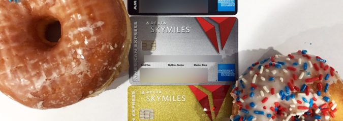 Free Doughnuts for Delta American Express Card Holders!