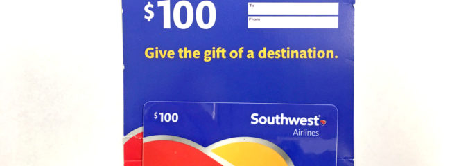 How Amazon & Amex Saved Me 30% on a Southwest Airlines Gift Card