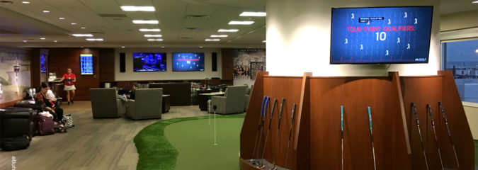 Fore! A Review of the PGA MSP Airport Lounge